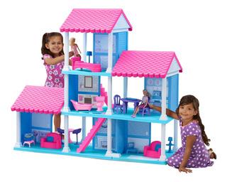 American Plastic Toys Delightful Dollhouse