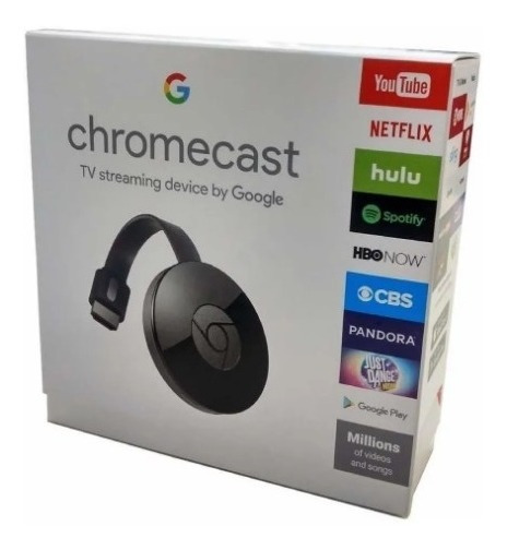 Google Chromecast 2 Generación Smartv Netflix Youtube Gs