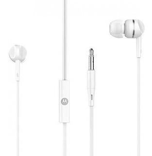 Auricular Motorola Pace 105 Wired In Ear Blanco - Aj Hogar