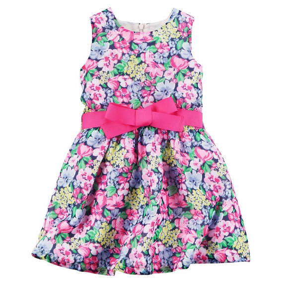 Carter´s Vestido Fiesta Floral Crepe Dress 3t