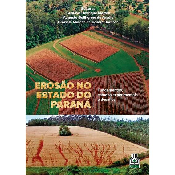 Livro Erosão No Estado Do Paraná
