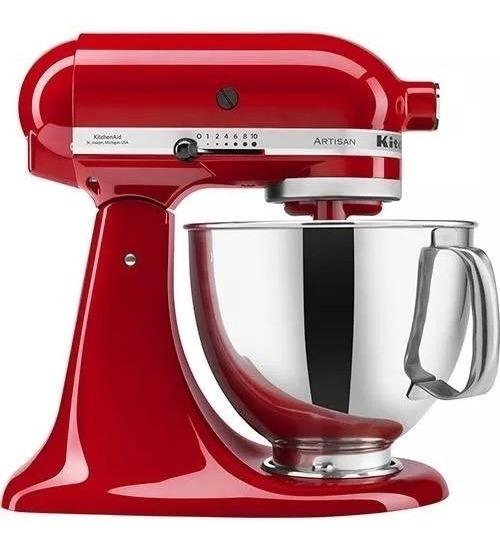 Batedeira Kitchenaid Stand Mixer Artisan Empire Red - 110v