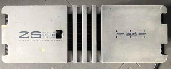 Amplificador De Potência Studior Z5 5000w Rms R$3600 A Vista
