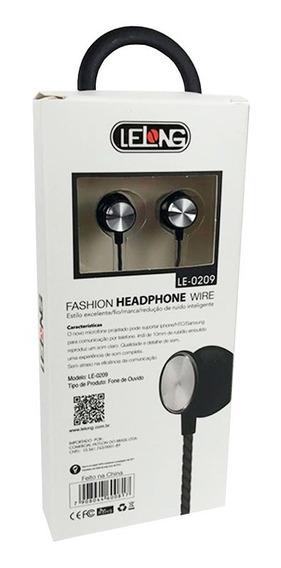 Fone De Ouvido Com Microfone Atende Chamadas Tablet Le-0209