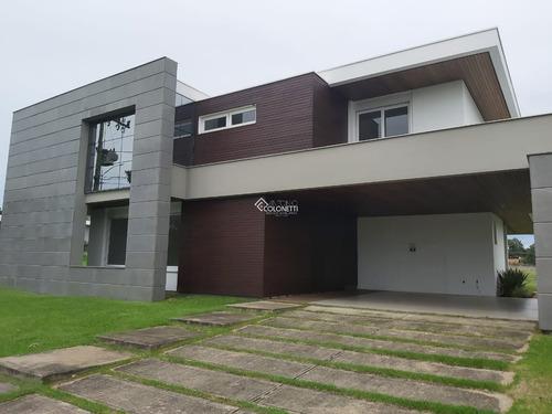 Imagem 1 de 15 de Casa Em Condominio - Primeira Linha - Ref: 418 - V-418