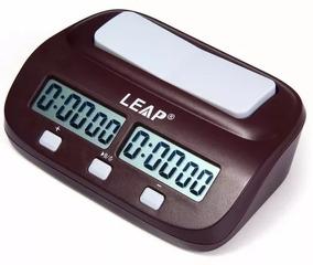 Relógio De Xadrez Leap Novo Digital Compacto Pq9907s