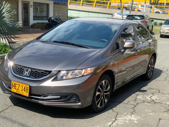 Honda Civic Lx Automático 2013