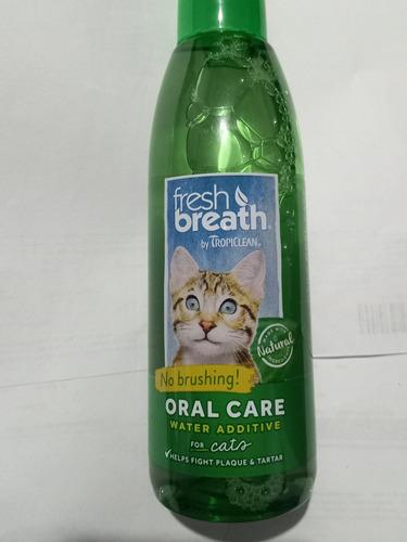 Oral Care Aditivo Para El Agua Fresh Breath Gato 8 Onz 236ml