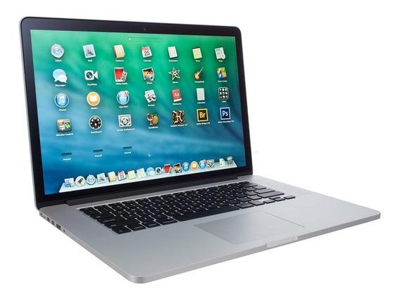Notebook Usado Macbook Pro 15 Core I7 6gb Ram Ssd 240gb