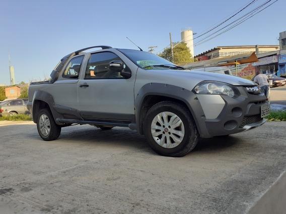 Fiat Strada Flex Cor Prata