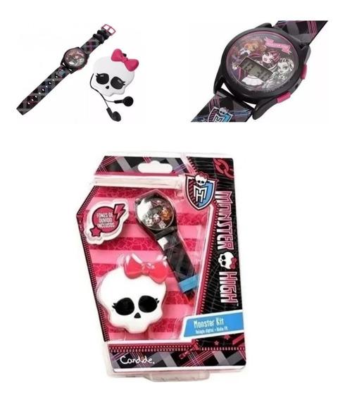 Kit 2 - Com Relógio E Rádio Com Fone Monster High - Candide