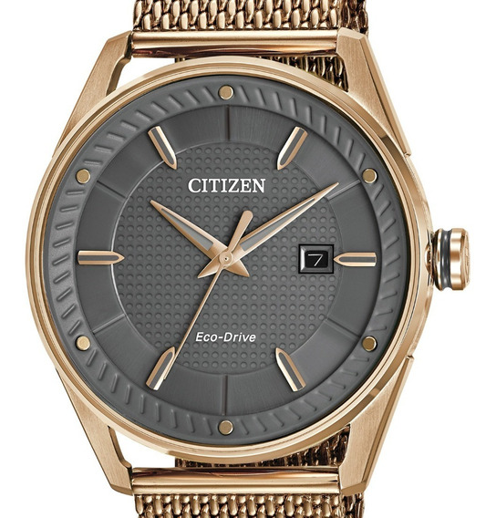 Reloj Hombre Citizen Bm6983-51h Ecodrive Acero Dorado