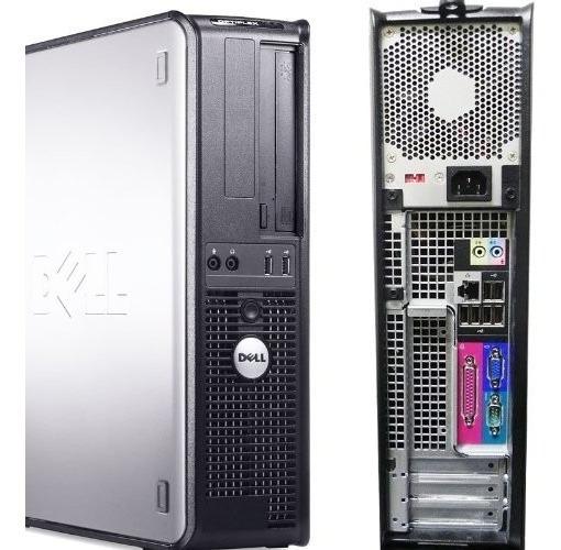 Cpu Dell Core 2 Duo 4gb Hd 160 + Windows 10 + Cabo