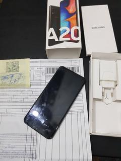 Celular Samsung A20 Android Branco
