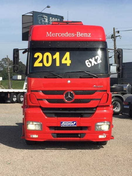 Mercedes Axor 2544 6x2 Ano 2014 Canelinha