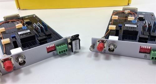 Transmissor Fibra Vídeo Bidirecional Kbc Fdva1-db1-m1r-bs