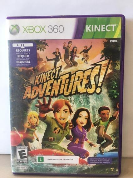 Kinect Adventures - Xbox 360 - Original - Física - Usado