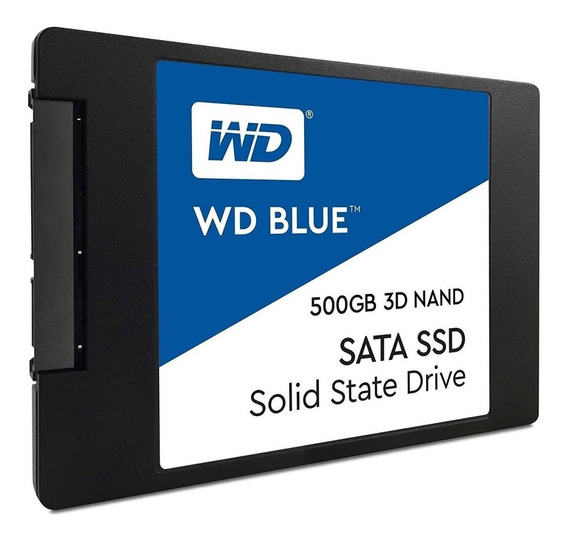 Disco Rigido 500gb Wd Ssd 3d Blue Sata