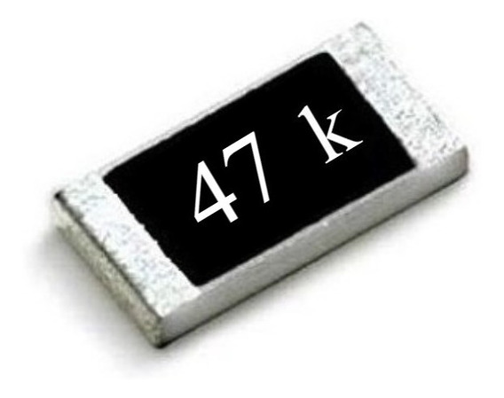 Resistor Smd 0603 ( Kit C/ 25 ) 47k Ohms Panasonic (1,6mm X 0,8mm) 1/10w