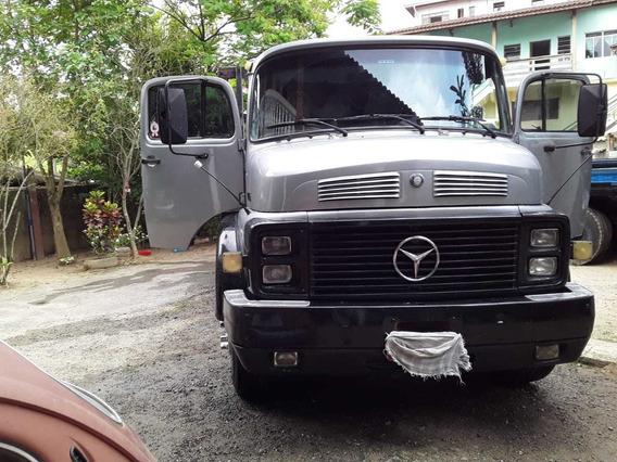 Mb 1316 Truck Carroceria 1985 Turbo Reduzido