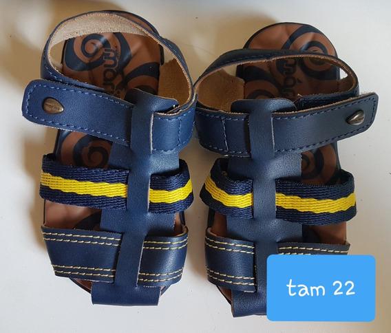 Croc Crocs Sandalia Tenis Sapato Infantil Menino Couro