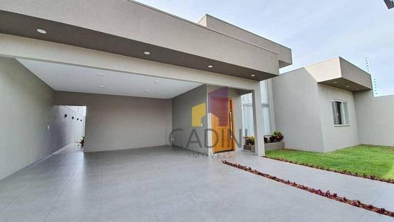 Casa Com 3 Quartos Sendo 1 Suíte À Venda No Bairro Tropical - Cascavel/pr. - Ca0353