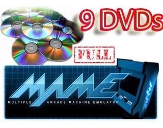 Arcade Mame 0.143 Completo 9 Dvds + 10630 Jogos Frete Gratis