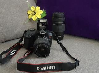 Cámara Semi-profesional Marca Canon Eos Rebel T6 Mas Lente.