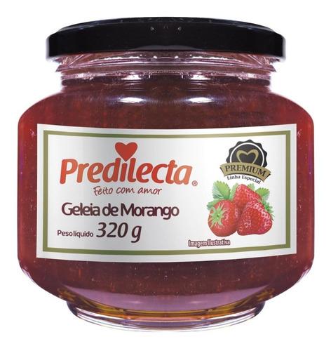 Imagem 1 de 1 de Geleia De Morango Pemium 320g Vidro Predilecta