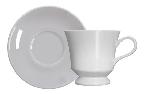 Xícara Para Chá Em Porcelana Germer Capri Branca