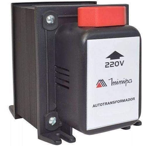 Conversor Transformador De Voltagem 127v E 220v Minipa 10100