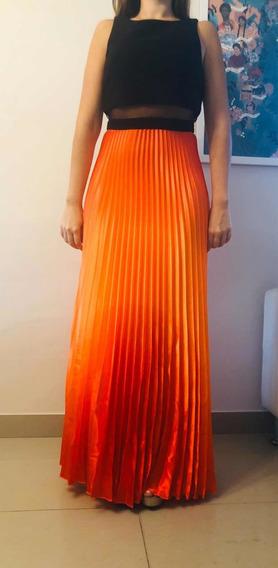 Vestido De Fiesta Importado Eeuu Diseñador