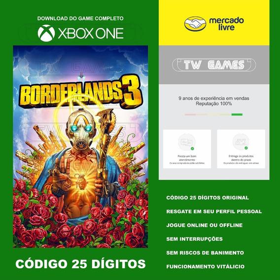Borderlands 3 Codigo 25 Digitos Xbox One Fat S X