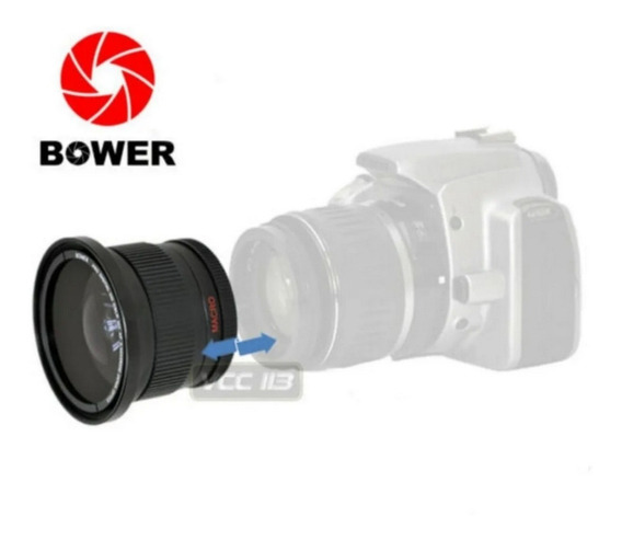 Lente Bower Digital Super Wide 0,42 X Af Japão Colecionar