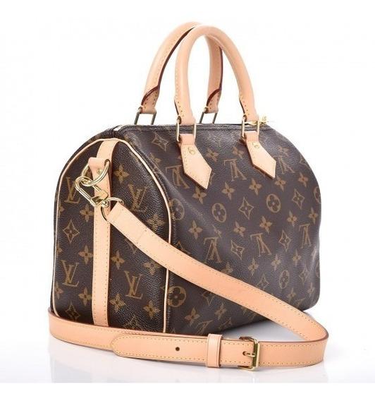Speedy 30 Bandouliere Louis Vuitton Couro Italiana C/código