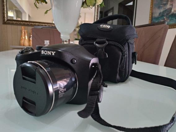 Câmera Digital Sony Cyber-shot Dsc-h200 - Completo - (usado)