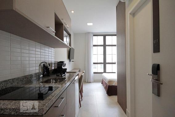 Apartamento Para Aluguel - Centro, 1 Quarto, 21 - 893114704