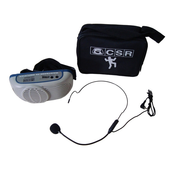 Microfone Com Amplificador Csr Bw500x