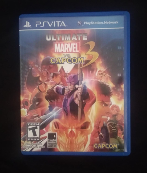 Marvel Vs Capcom 3 Ultimate - Ps Vita