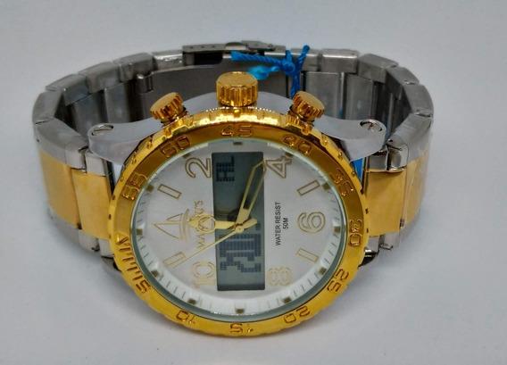 Relógio Masculino Marinus A3347 À Prova D