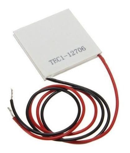 Celda Peltier Tec1 12706 6 Amp 12v Nevera Termoelectrico
