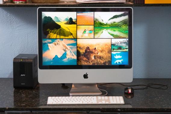 iMac 24 2008 2.8 Code 2 Duo 4gb Ram Ati Radeon Hd 2600