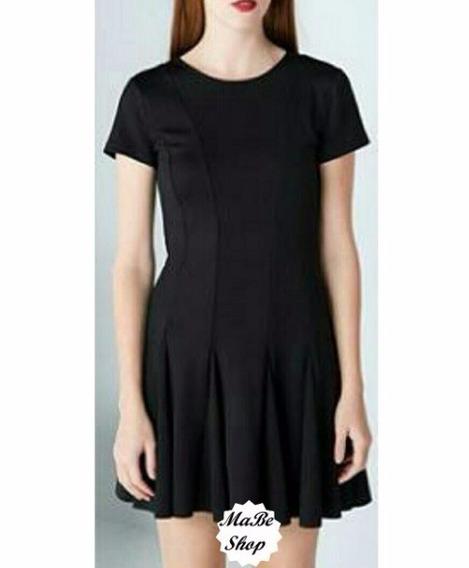 Vestido Negro Marca Bershka Zara H&m