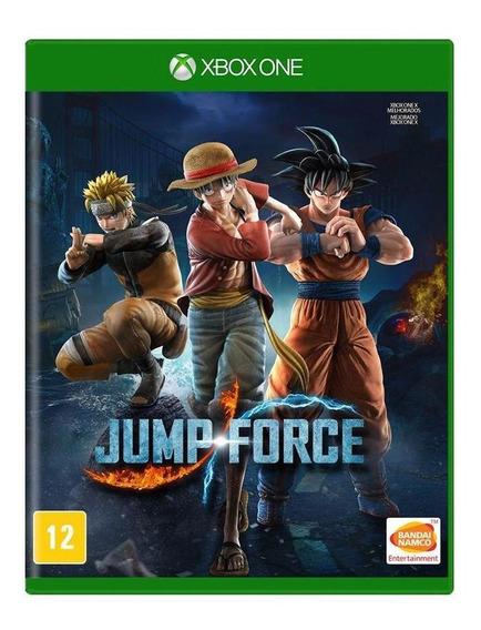 Jump Force Xbox One Mídia Física Novo Lacrado