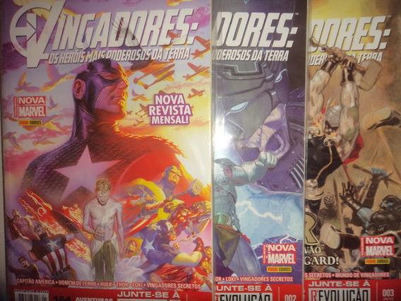 Vingadores Os Herois Mais Poderosos Da Terra 1 A 16 Panini