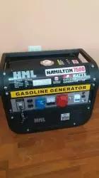 Generador A Gasolina Hamilton 7500w 15hp 110-220-340v Usa.