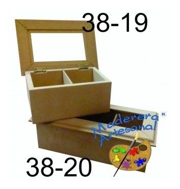 Caja P/te C/vidrio 3 Div 10 X 23 X 8,5 Cm