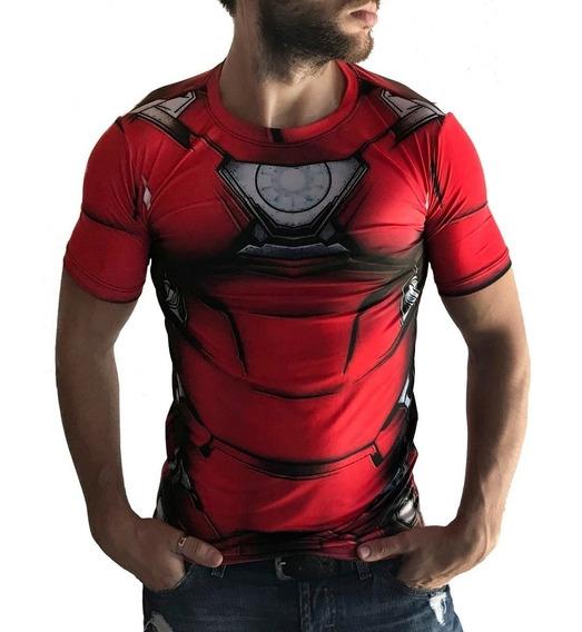 Remeras Sublimadas Urbanas Ironman Marvel Avengers Ropa