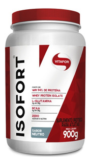 Isofort Whey Protein Isolada 900g Vitafor