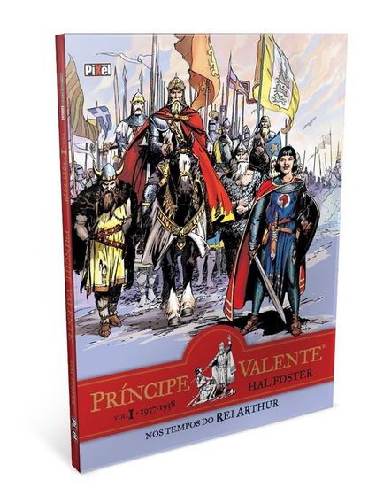 10 Livros Príncipe Valente - Nos Tempos Do Rei Arthur Novo